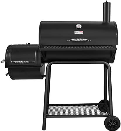 Royal Gourmet BBQ Charcoal Grill with Offset Smoker best large charcoal grill Best Large Charcoal Grill Reviewed in 2020