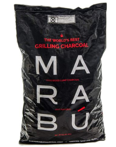 Marabu All Natural lump charcoal Best Lump Charcoal to Sizzle your Steaks - 2021 Buyer's Guide